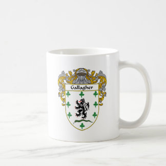 Gallagher Coat of Arms (Mantled) Coffee Mug