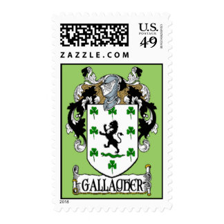 Gallagher Coat of Arms Postage Stamps
