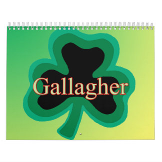 Gallagher Family Calendar