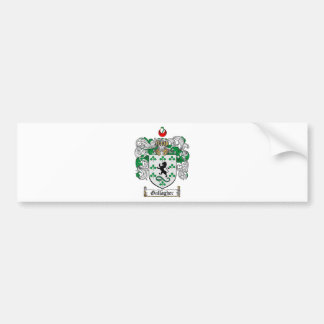 GALLAGHER FAMILY CREST -  GALLAGHER COAT OF ARMS CAR BUMPER STICKER