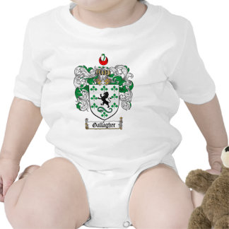 GALLAGHER FAMILY CREST -  GALLAGHER COAT OF ARMS ROMPERS