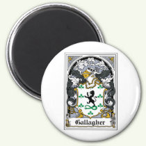 Gallagher Family Crest Magnet