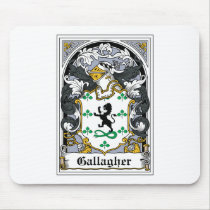 Gallagher Family Crest Mousepad