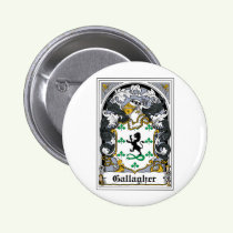 Gallagher Family Crest Button