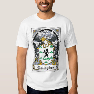 Gallagher Family Crest T Shirt