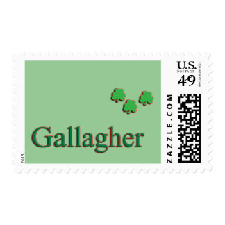 Gallagher Family Postage Stamp