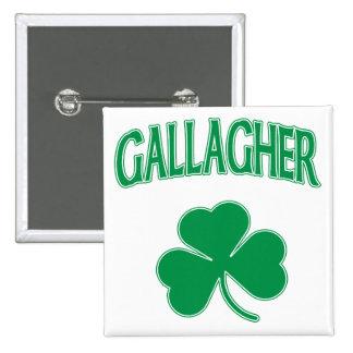 Gallagher Irish 2 Inch Square Button