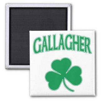 Gallagher Irish 2 Inch Square Magnet