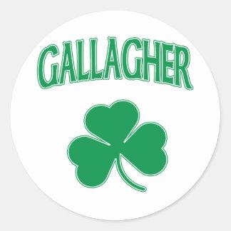 Gallagher Irish Classic Round Sticker