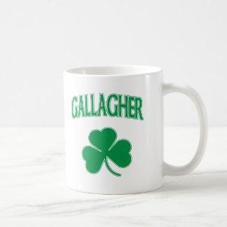 Gallagher Irish Classic White Coffee Mug
