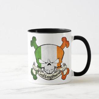 Gallagher Irish Skull Mug