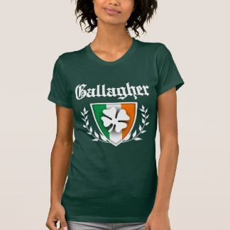 Gallagher Shamrock Crest Tshirt
