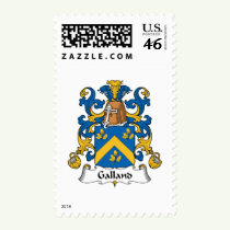 Galland Family Crest Stamps
