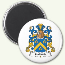 Galland Family Crest Magnet