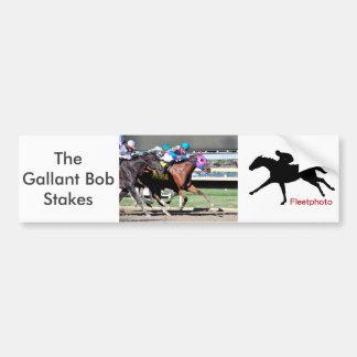 Gallant Bob Stakes 2015 Bumper Sticker