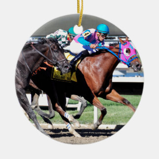 Gallant Bob Stakes 2015 Ceramic Ornament