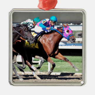 Gallant Bob Stakes 2015 Metal Ornament