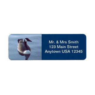Gallant Goose Label