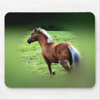 gallantly galloping mouse pad