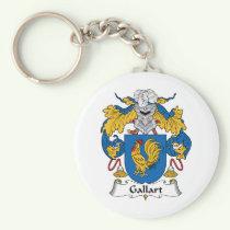 Gallart Family Crest Keychain