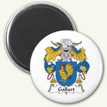 Gallart Family Crest Magnet