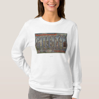 Gallatin, Tennessee - Large Letter Scenes T-Shirt