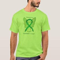 Gallbladder Cancer Awareness Ribbon Angel Shirt