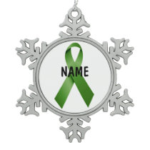 Gallbladder Cancer Memorial Ornament