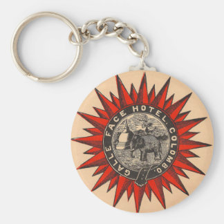 Galle Face Hotel Retro  Label KeyChain