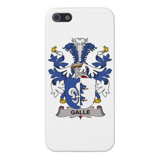 Galle Family Crest Cases For iPhone 5