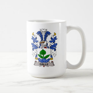 Galle Family Crest Coffee Mug