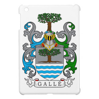 Galle Family Crest (German) iPad Mini Cover