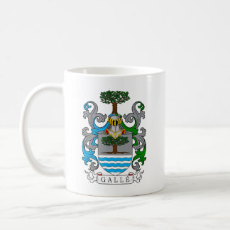 Galle Family Crest (German) Classic White Coffee Mug