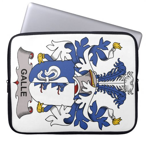 Galle Family Crest Laptop Sleeve