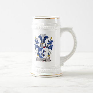 Galle Family Crest Mugs