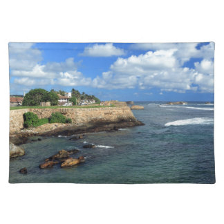 Galle Fort Indian Ocean Sri Lanka Placemat