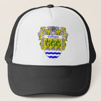 Gallegos Coat of Arms Trucker Hat