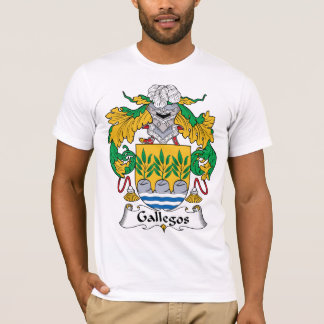 Gallegos Family Crest T-Shirt
