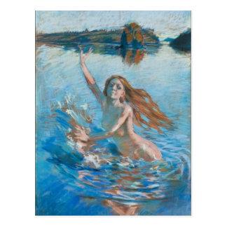 Gallen-Kallela's Aino postcard