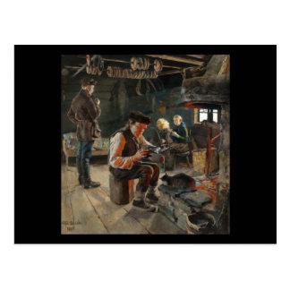 Gallen-Kallela's Allmogelif postcard