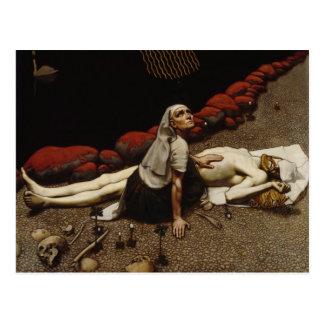 Gallen-Kallela's Lemminkäinen's Mother postcard