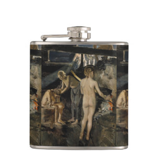 Gallen-Kallela's Sauna art flask