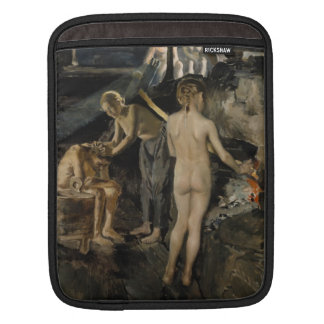Gallen-Kallela's Sauna iPad sleeve