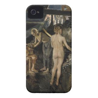 Gallen-Kallela's Sauna iPhone case