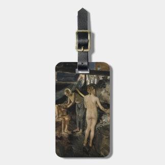 Gallen-Kallela's Sauna luggage tag