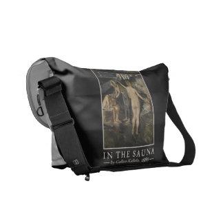 Gallen-Kallela's Sauna messenger bag