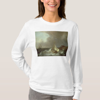 Galleon in Stormy Seas T-Shirt