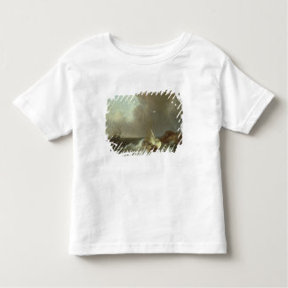 Galleon in Stormy Seas Toddler T-shirt