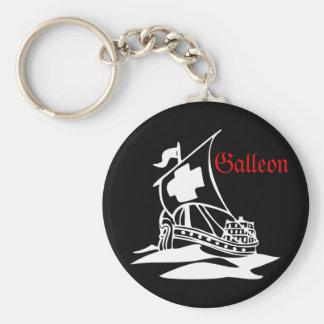 Galleon Keychain