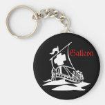Galleon Llavero Personalizado